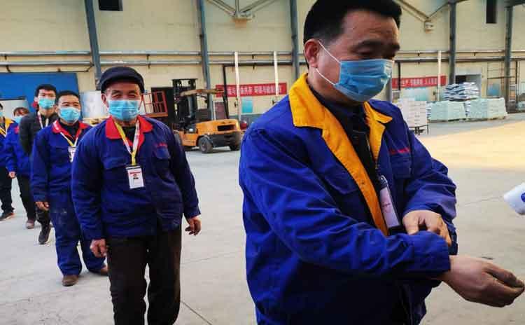 面对新型冠状病毒寿光水溶肥生产厂家现在复工情况怎样?